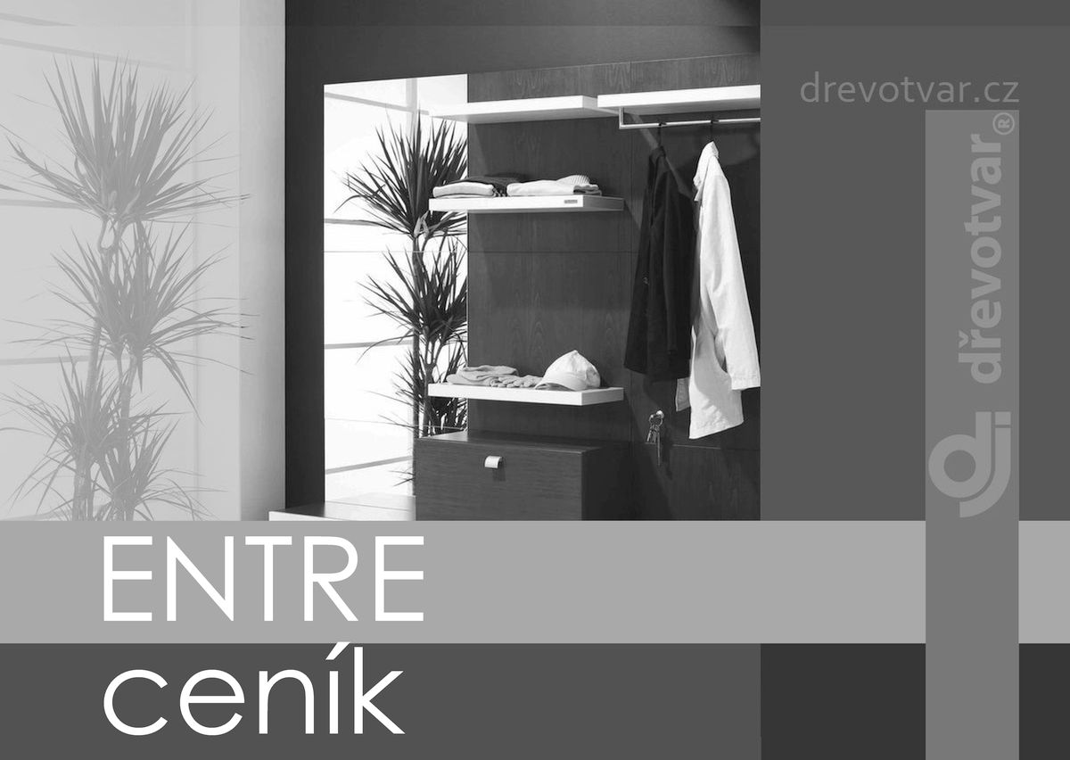 ENTRE price list (CZK)